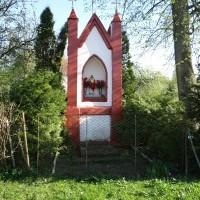 Kapliczka we Frączkach przy gospodarstwie nr 31