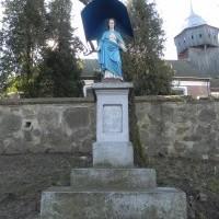 Figura przydrożna w Orzechowie