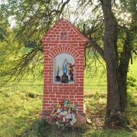 Kapliczka przydrożna - Szałmia