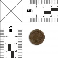 Moneta nieczytelna