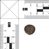 Moneta rzymska nieczytelna
