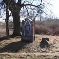 Kapliczka pomiędzy Radostowem, a Orzechowem