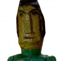 "Rzeźba ""Doktor Indii 1970 rok"""