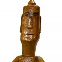 """Rzeźba """"Panna afrykańska żółtej urody"""""""