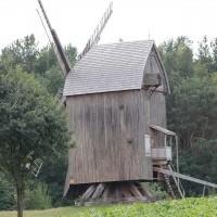 """Wiatrak """"koźlak"""" ze wsi Wodziany"""